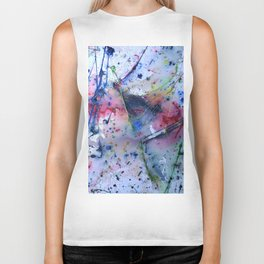 ABSTRACT PAINTING Biker Tank