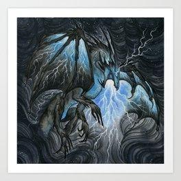 Storm Bringer Art Print