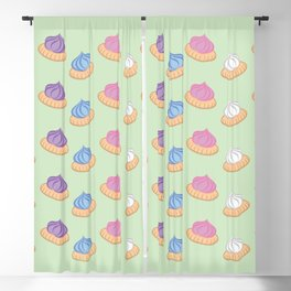 Iced gem biscuits Blackout Curtain