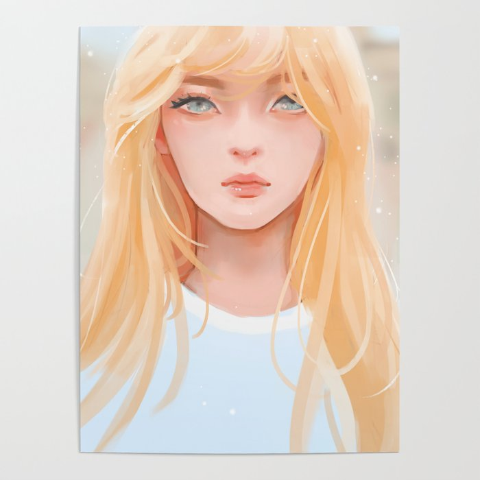Irene Red Velvet Poster By Moonmistix Society6