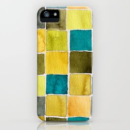 Fashion Color Trend 2021  Watercolor Pattern iPhone Case