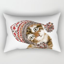Baby Cat with the Hat Rectangular Pillow