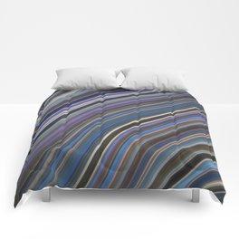 Mild Wavy Lines IV Comforters