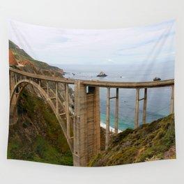 Bixby Bridge Wall Tapestry