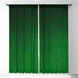 Emerald Green Ombre Design Blackout Curtain