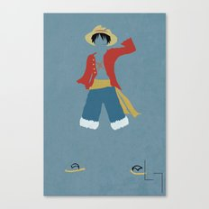 Monkey D Luffy Canvas Print