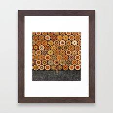 Timbers Framed Art Print