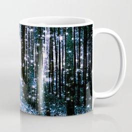 Magical Forest Dark Blue Elegance Coffee Mug