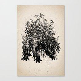 Shub-Niggurath by Anna Helena Szymborska Canvas Print