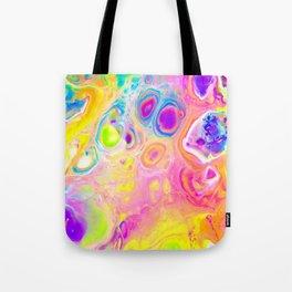 Rainbow Cells Tote Bag