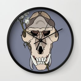 Monkey's Breath Wall Clock