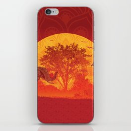 Afrika iPhone Skin