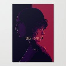 undther the skin - alternative movie poster 02 Canvas Print