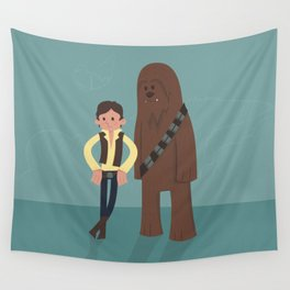 Han & Chewie, The Rogues Wall Tapestry