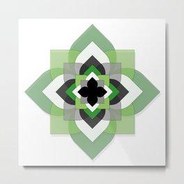 Aro Flower Metal Print
