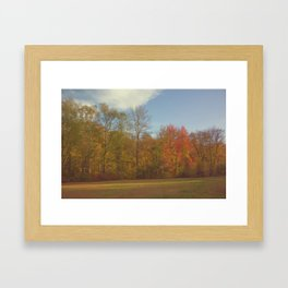 Fall Landscape Framed Art Print