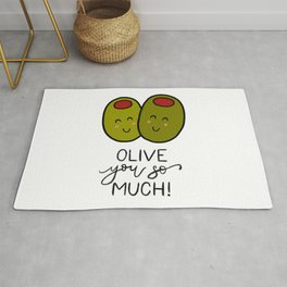 Olive You So Much! Rug