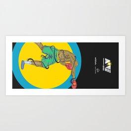 Boxeo  Art Print