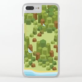 Giant Causeway Clear iPhone Case