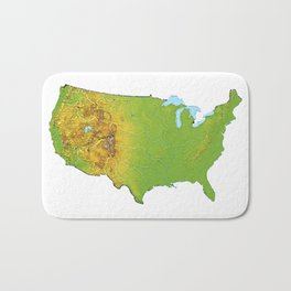 Physically United States Bath Mat