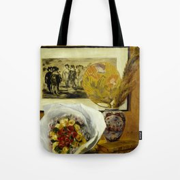 Still Life with Bouquet Tote Bag