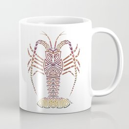 Tribal Caribbean Lobster Coffee Mug