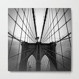 Broolyn Bridge Metal Print
