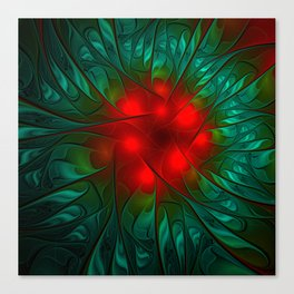 red center Canvas Print