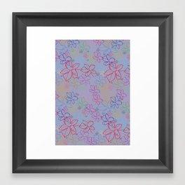 pattern v5 Framed Art Print
