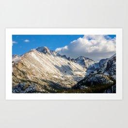 Rocky Mountains 4 Art Print