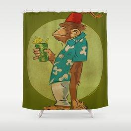 Bradbury The Ape Shower Curtain