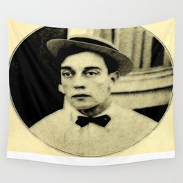 Buster Keaton Wall Tapestry