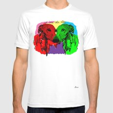 Galgos Mens Fitted Tee White MEDIUM