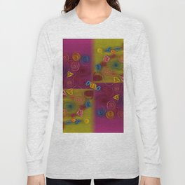 QUILLING COLLAGE Long Sleeve T-shirt