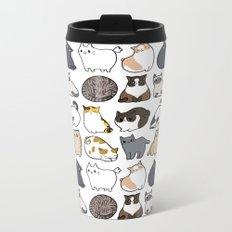 Cats Cats Cats Metal Travel Mug