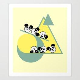 Panda-fun Art Print
