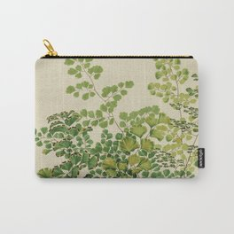 Maidenhair Ferns Carry-All Pouch