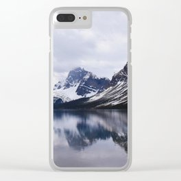 Shot in the Mountains Clear iPhone Case