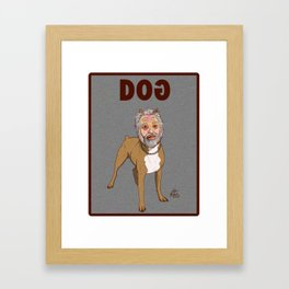GOD DOG FROM INVASION OF THE BODY SNATCHERS Framed Art Print