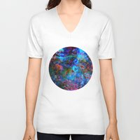 apollo V-neck T-shirts featuring Apollo by Peta Herbert