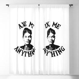 Lizzie Borden - True Crime Joke Blackout Curtain