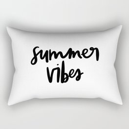 Summer Vibes Rectangular Pillow