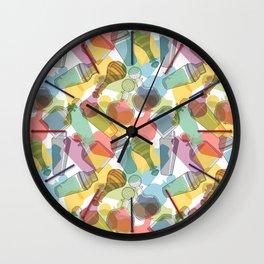 60's Decanter Art Wall Clock