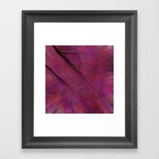 Fragment 21: Sharp Interruption Framed Art Print