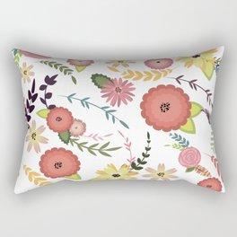 Floral Pattern1 Rectangular Pillow