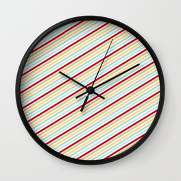 All Striped Wall Clock