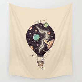 Interstellar Journey Wall Tapestry