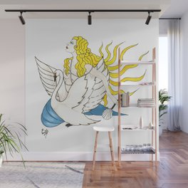 The Lady Aphrodite, The Golden Kypria. Wall Mural