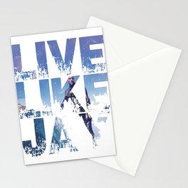 Live like Jay Stationery Cards