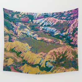 Golden Land Wall Tapestry
